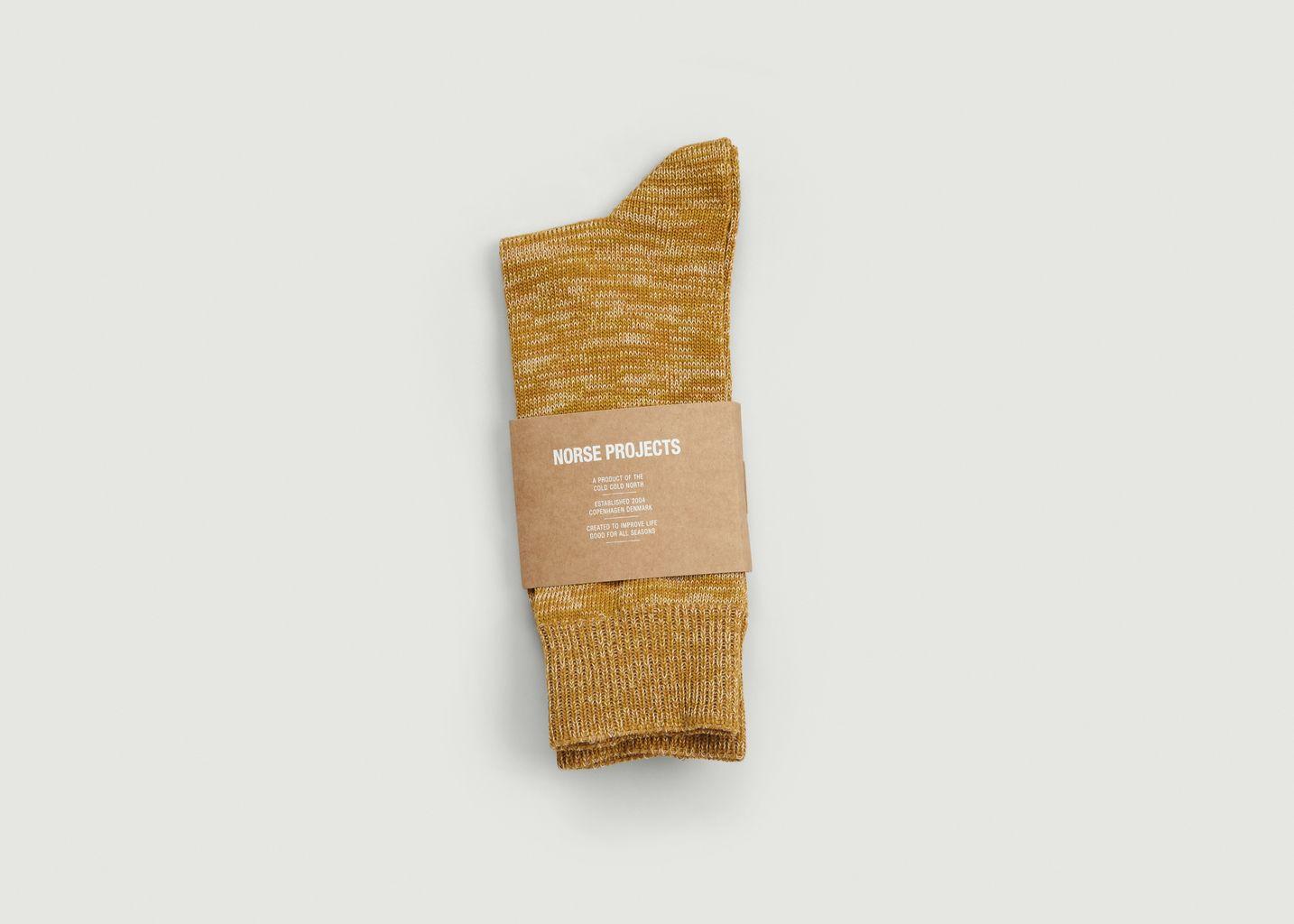 Chaussettes Bjarki Blend - Norse Projects