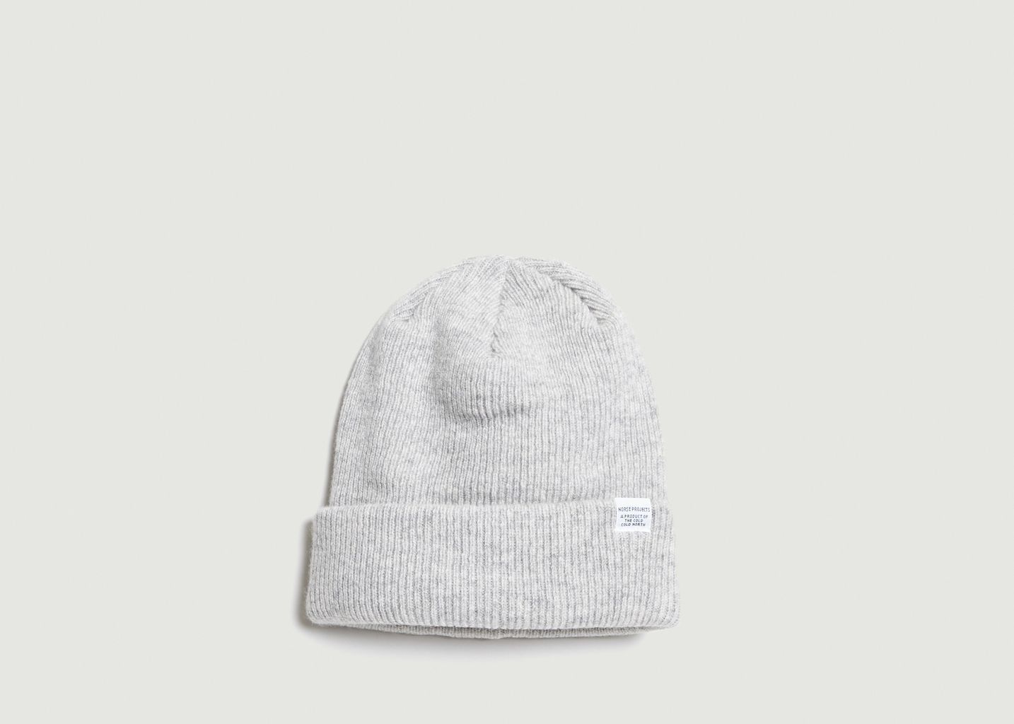 30e1f182729 Norse Beanie Light Grey Norse Projects