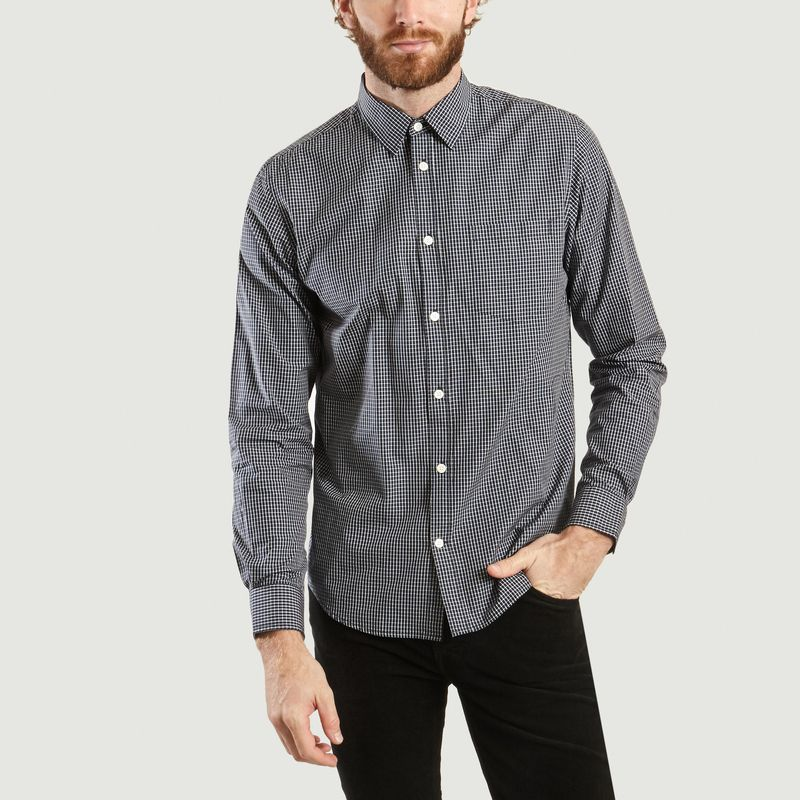 Chemise Micro Plaid Osvald - Norse Projects