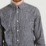 matière Chemise Micro Plaid Osvald - Norse Projects
