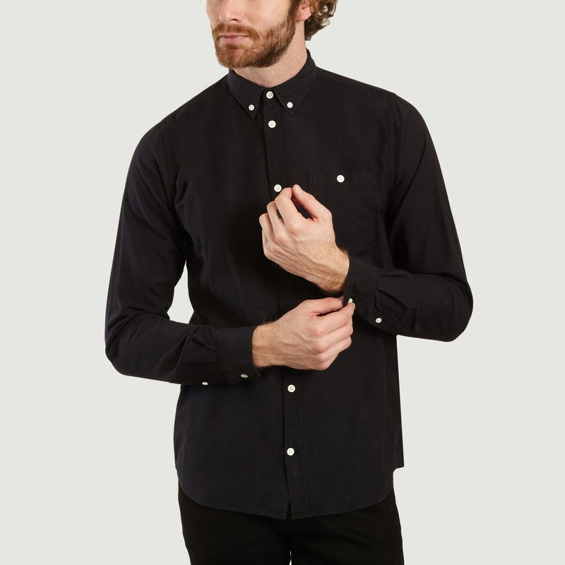 Chemise En Coton Oxford Anton - Norse Projects