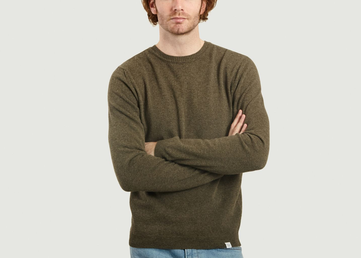 Pull En Laine Mérinos Sigfred - Norse Projects