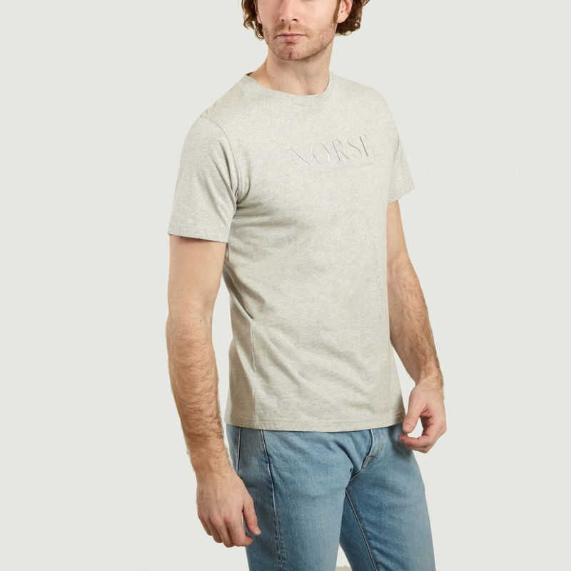 T-Shirt Logotypé Niels - Norse Projects
