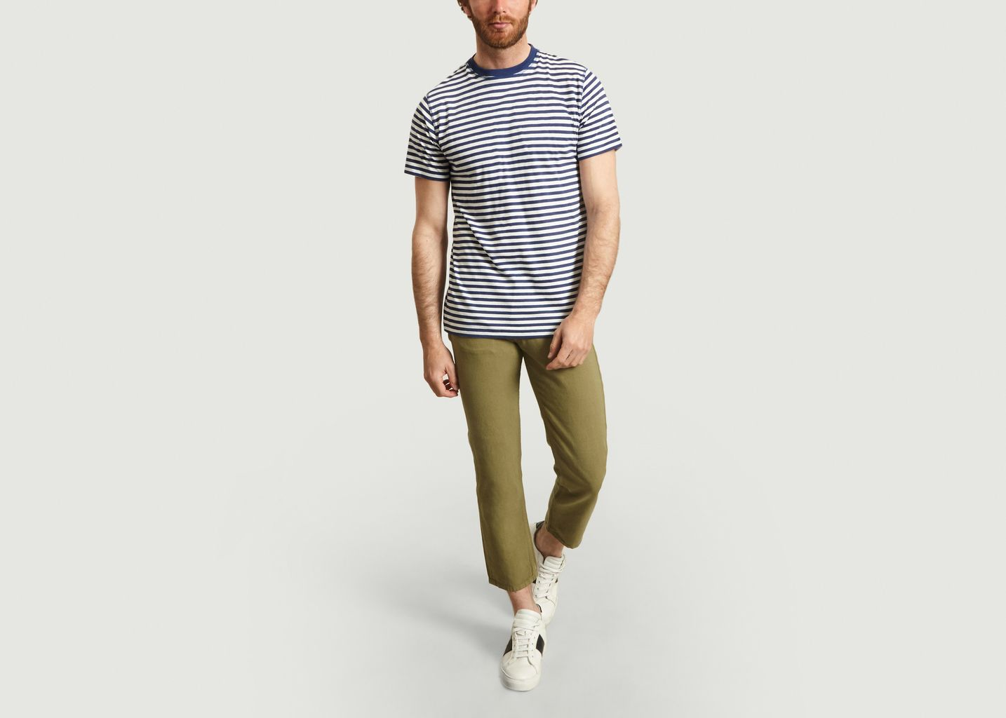 T-Shirt Rayé Niels Classic - Norse Projects