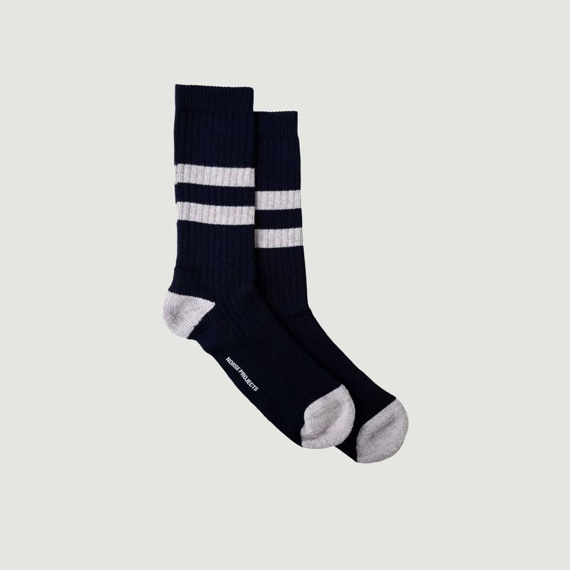 Chaussettes Rayées Bjarki - Norse Projects