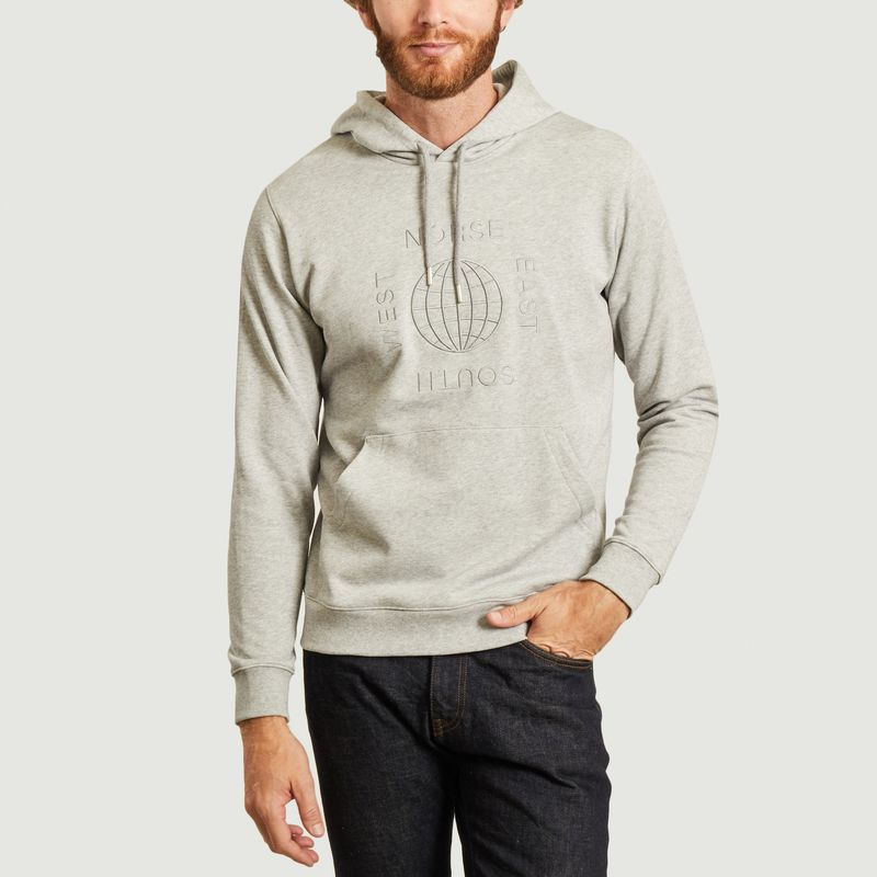 Hoodie vagn norse X MattLuckhurst  - Norse Projects