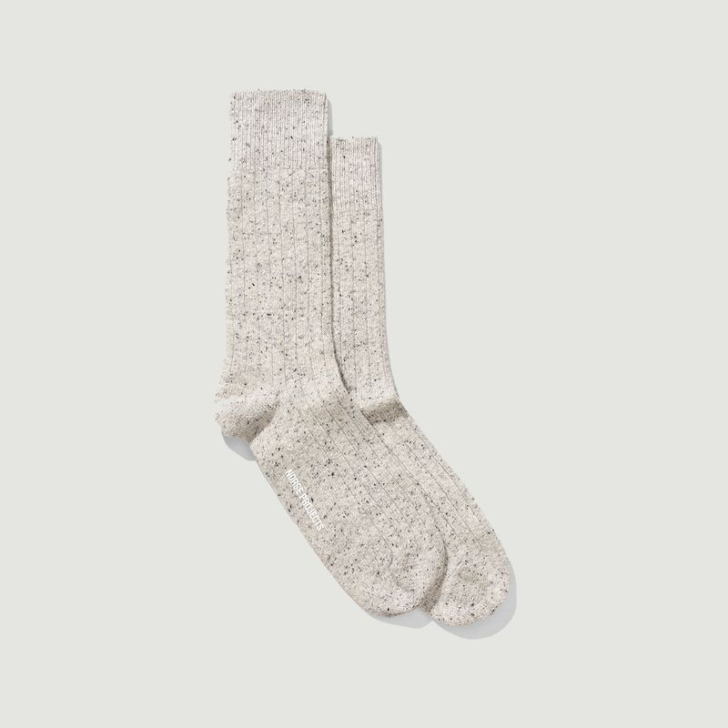 chaussettes Bjarki neps - Norse Projects