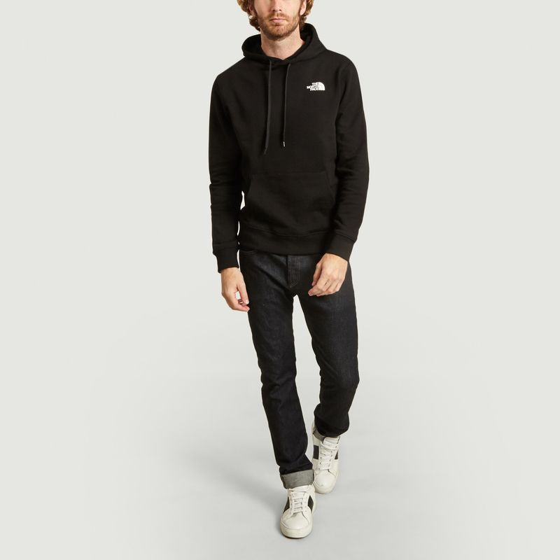 Hoodie Graphic Rainbow Box - The North Face
