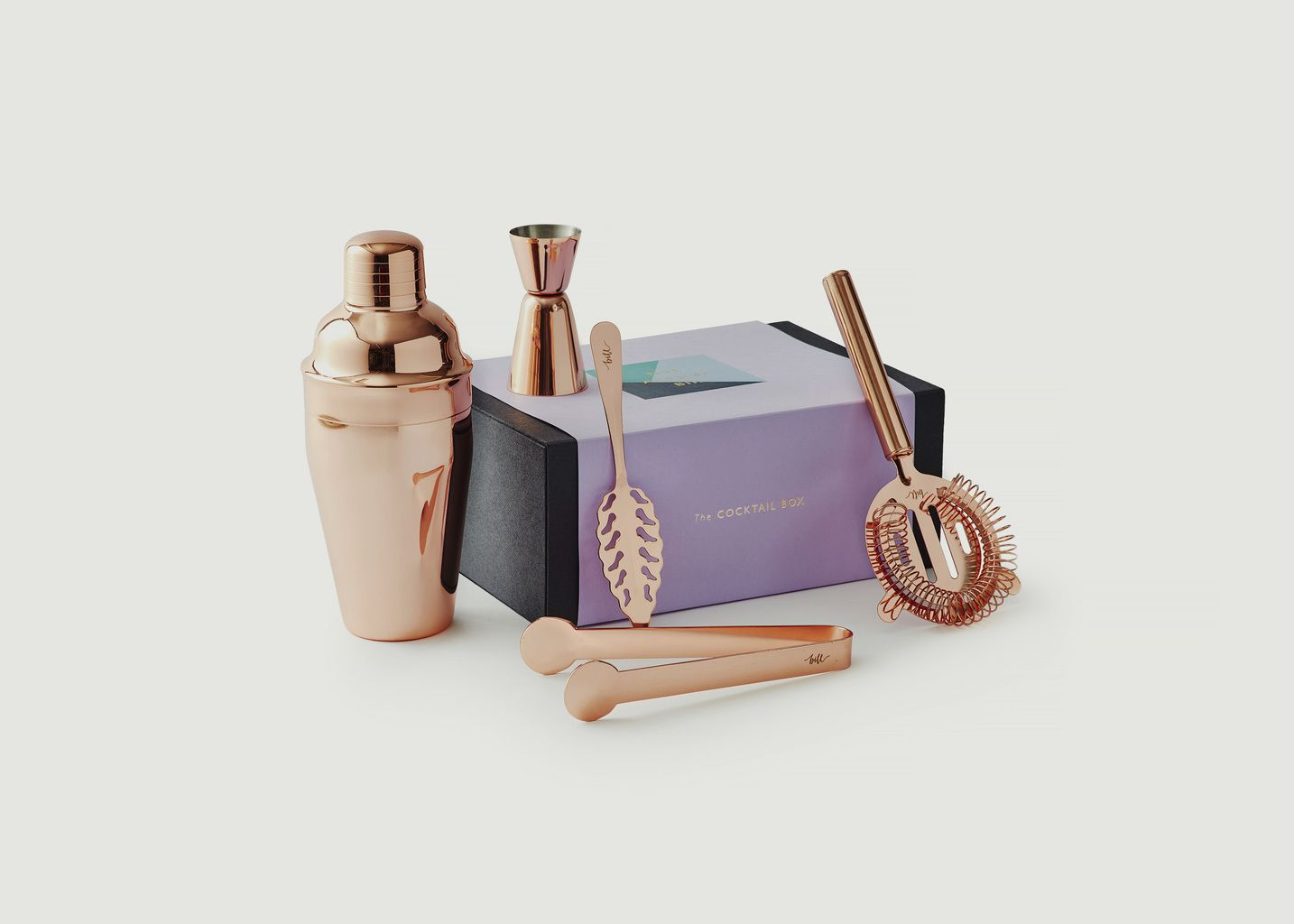 Rose Gold Cocktail Set - Not-Another-Bill