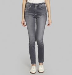 Skinny High Waisted Bamboo Jeans
