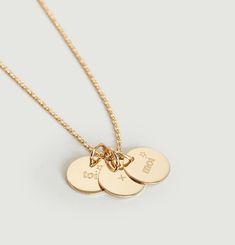 Collier 3 Médailles Toi + Moi
