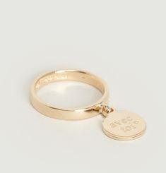 Medallion Avec Toi Ring