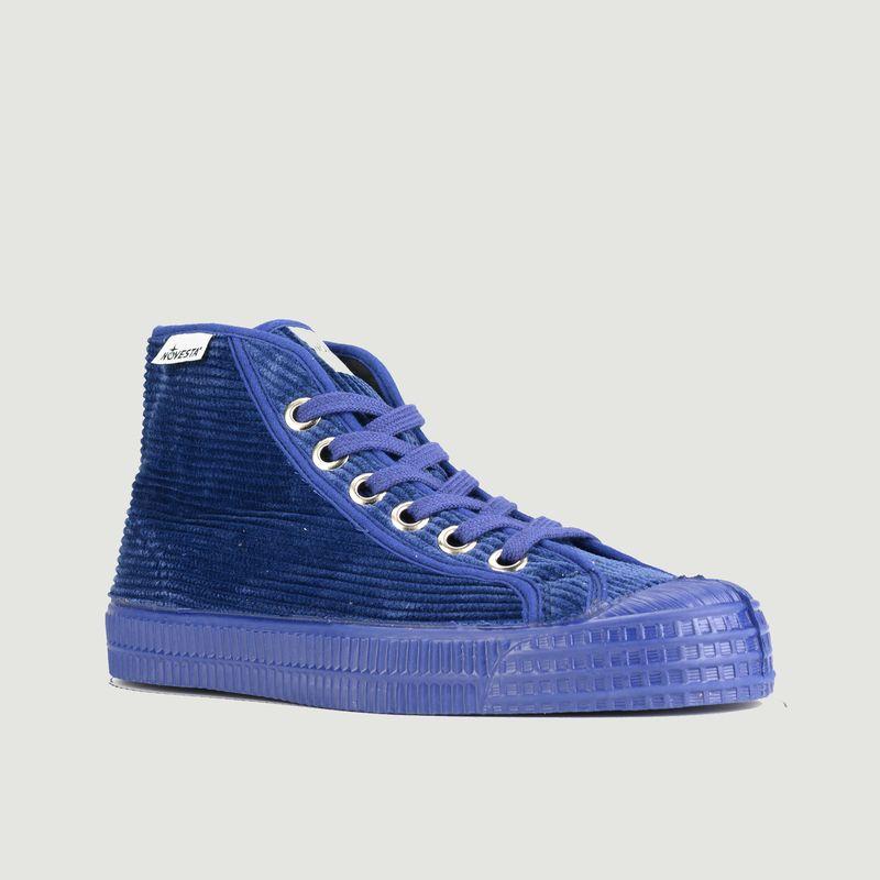 Sneakers montantes en velours côtelé Star Dribble - Novesta