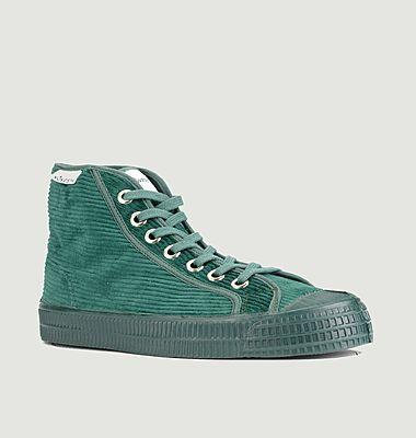 Sneakers montantes en velours côtelé Star Dribble