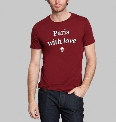 Tee-Shirt Paris With Love