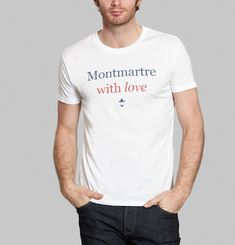 Tee-Shirt Montmartre With Love