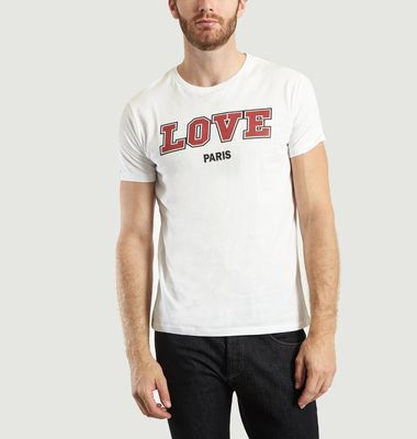T-shirt Love Paris