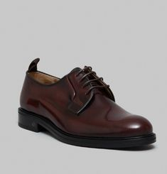 Derbies Edition 13 Cuir Spazzolato