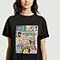 matière T-shirt en coton bio imprimé Tina Daysleeper - Nudie Jeans