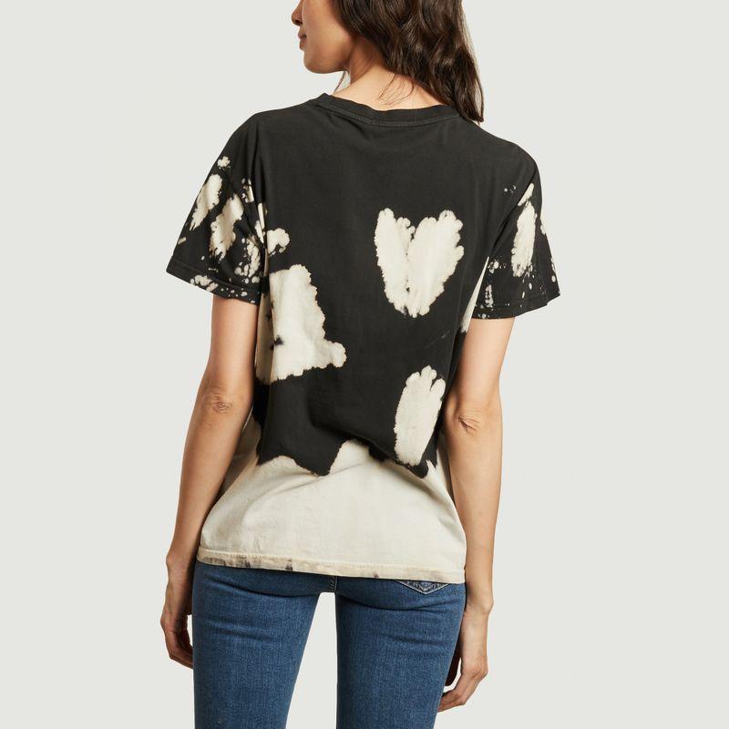 T-shirt en coton bio tie and dye Tina - Nudie Jeans