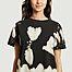 matière T-shirt en coton bio tie and dye Tina - Nudie Jeans