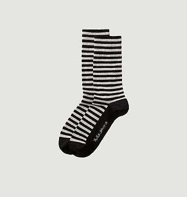 Chaussettes rayées Olsson