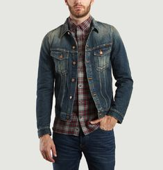 Billy Dark Authentic Denim Jacket