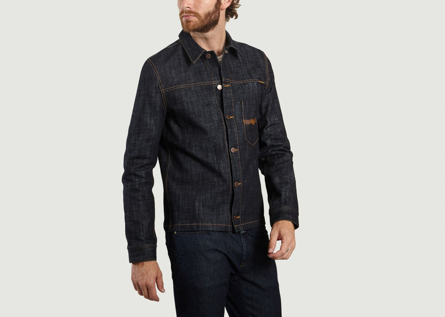 Veste En Jean Ronny Dry Cross Denim - Nudie Jeans