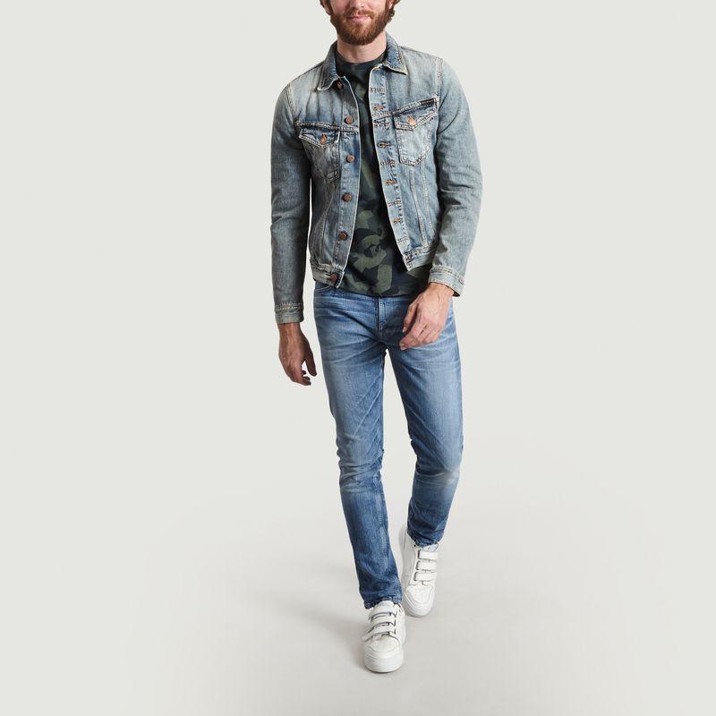 Veste Denim Billy en Coton Biologique - Nudie Jeans