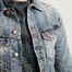 matière Veste Denim Billy en Coton Biologique - Nudie Jeans