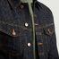 matière Veste en Jean Billy en Coton Biologique - Nudie Jeans