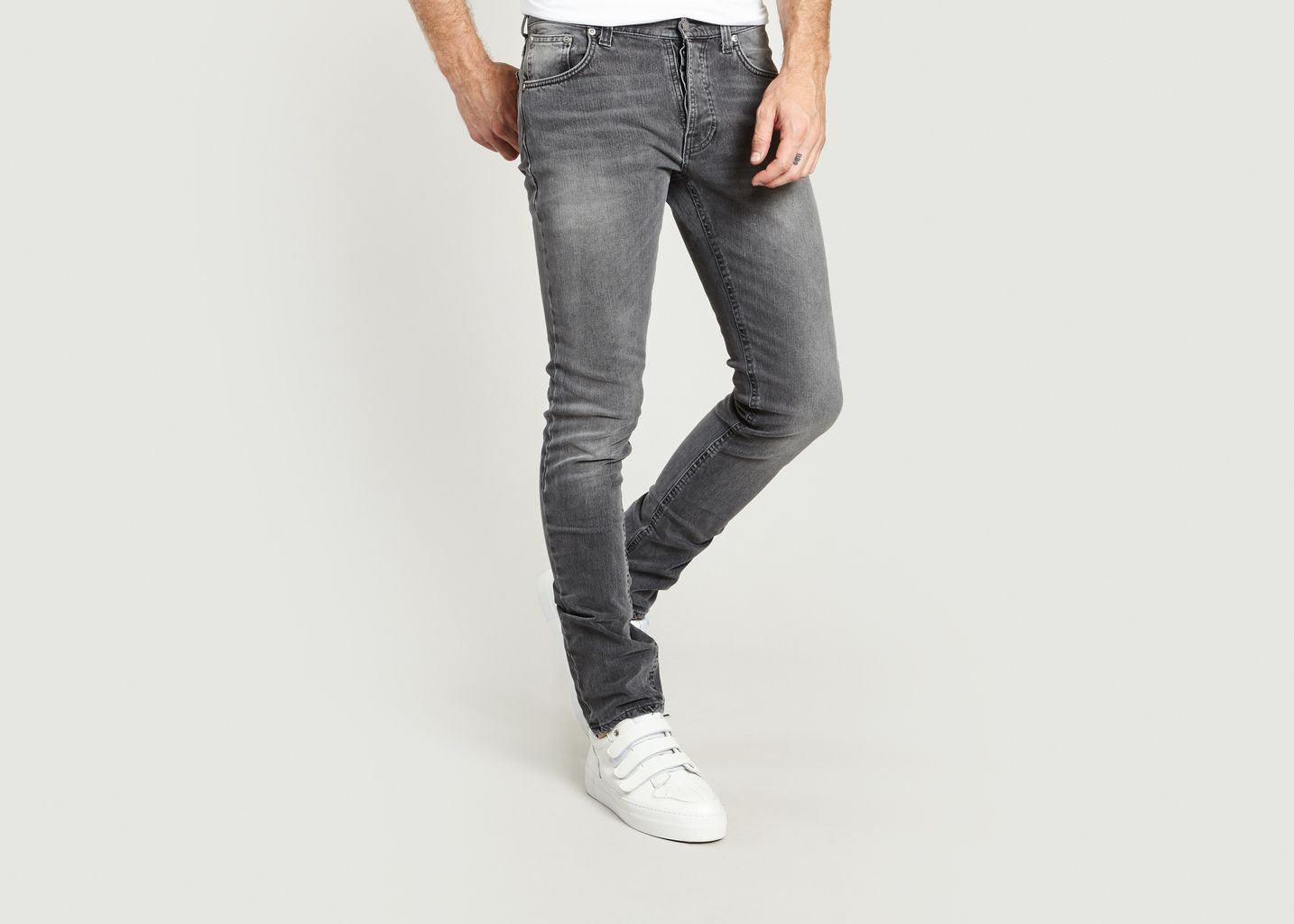 c08e7dc13e6 Tilted Tor Jeans Grey Nudie Jeans