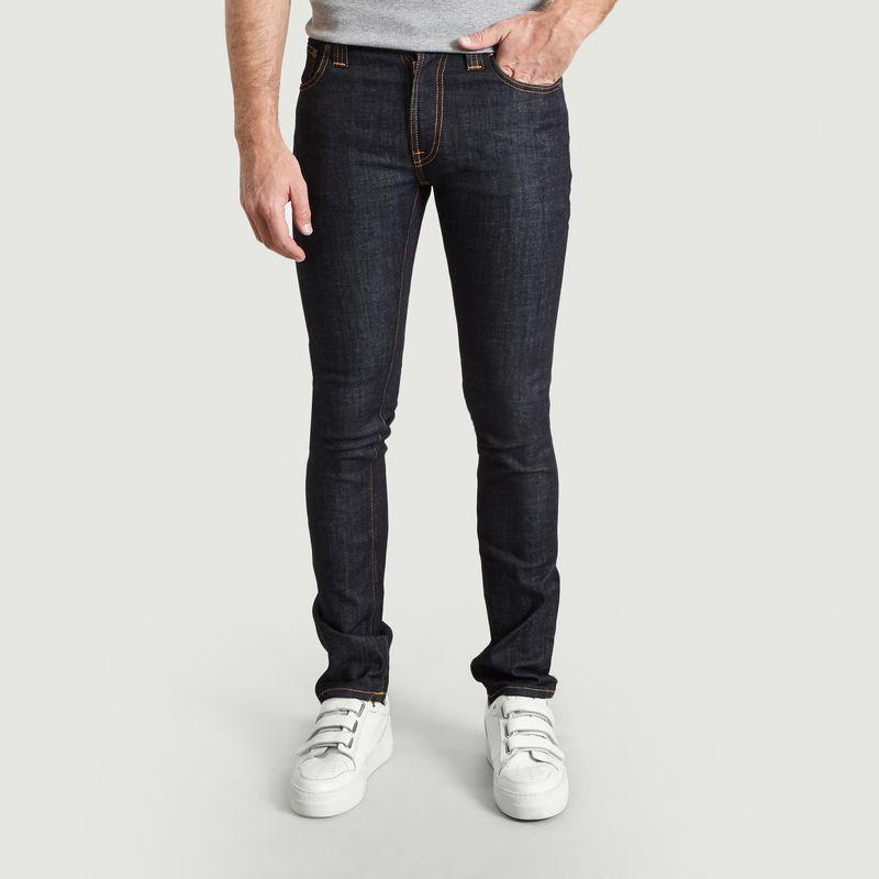 Jean Thin Finn en Coton Biologique - Nudie Jeans