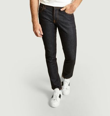 Jean Grim Tim Slim Dry True Navy