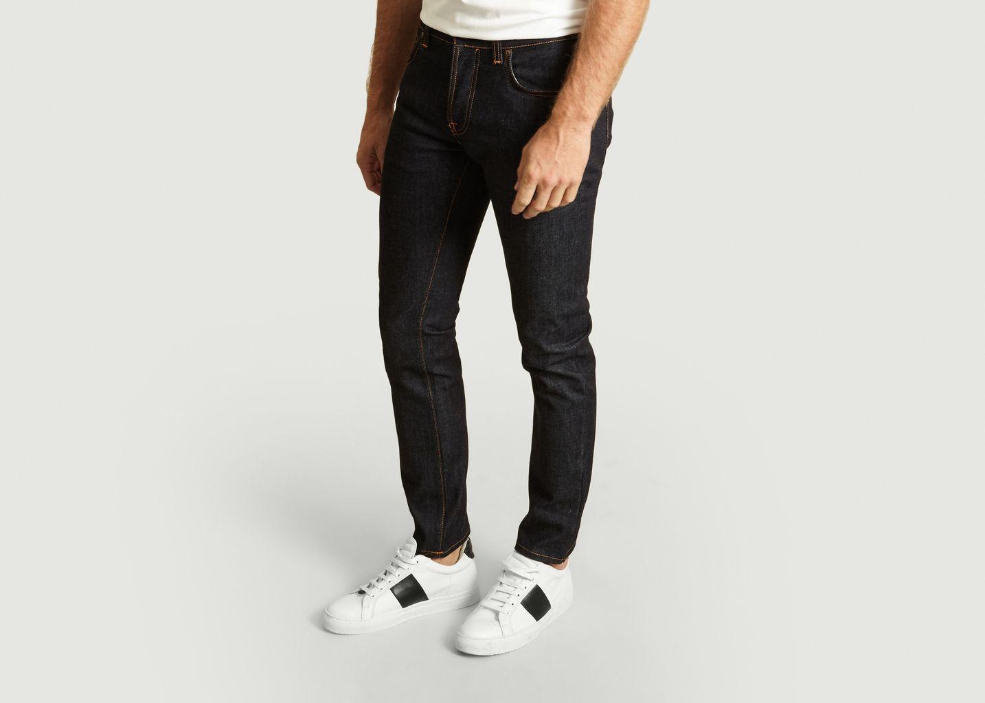 Jean Grim Tim Slim Dry True Navy - Nudie Jeans
