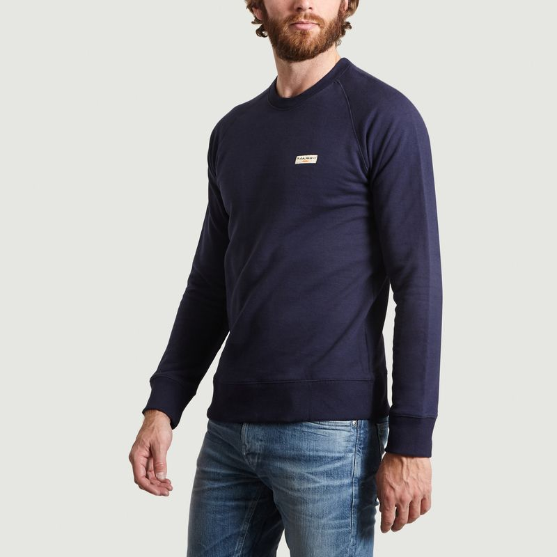 Sweat Samuel en Coton Biologique - Nudie Jeans