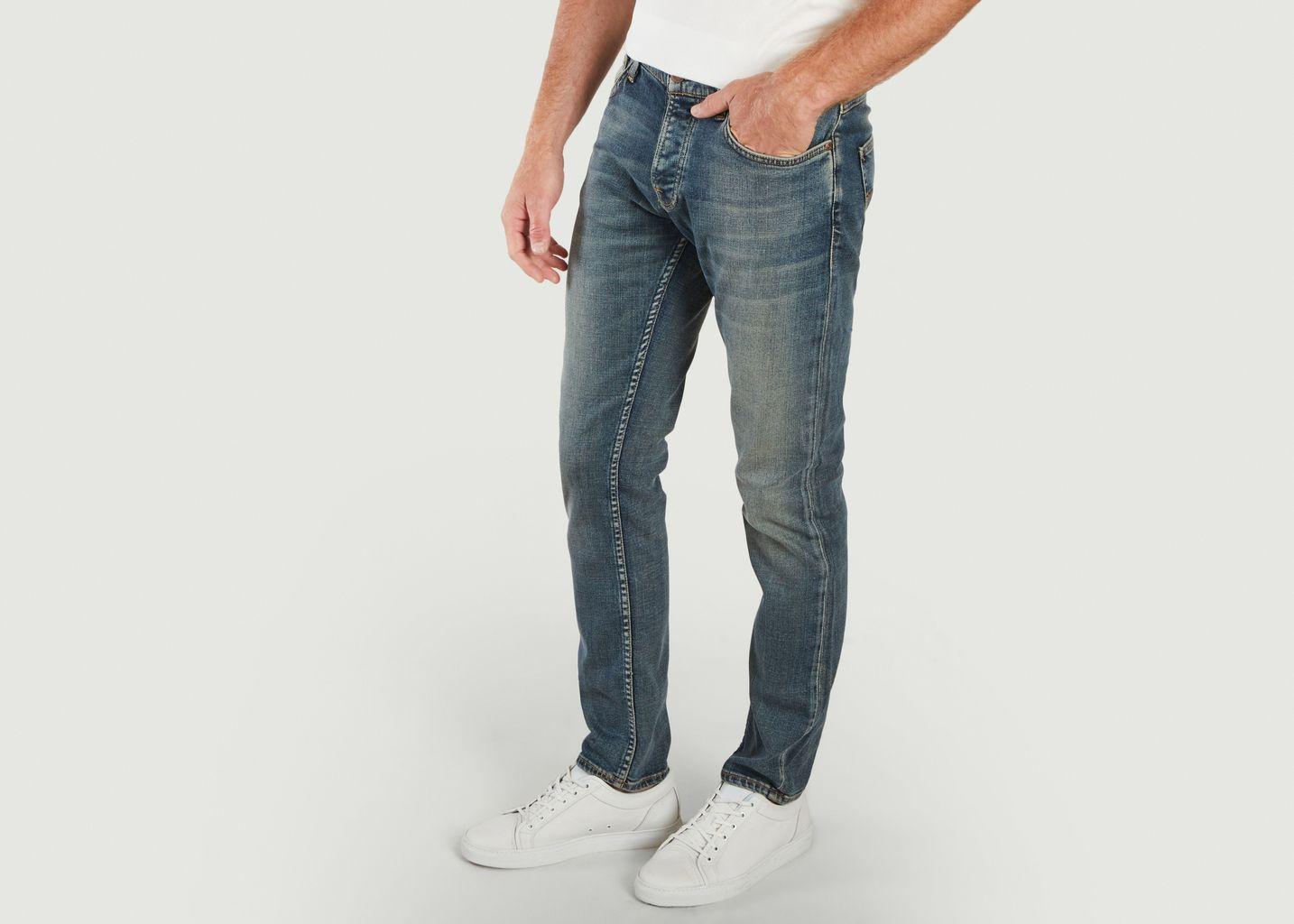 Jean Lean Dean Indigo Exile - Nudie Jeans