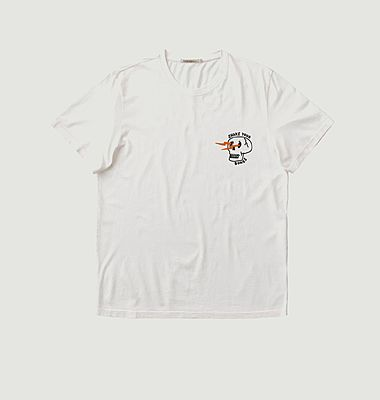 T-shirt Blanc Roy Shake Your Bones