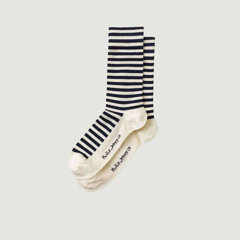 Chaussettes Olsson rayées - Nudie Jeans