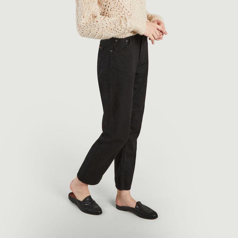 Jean Lofty Lo Black Soul - Nudie Jeans