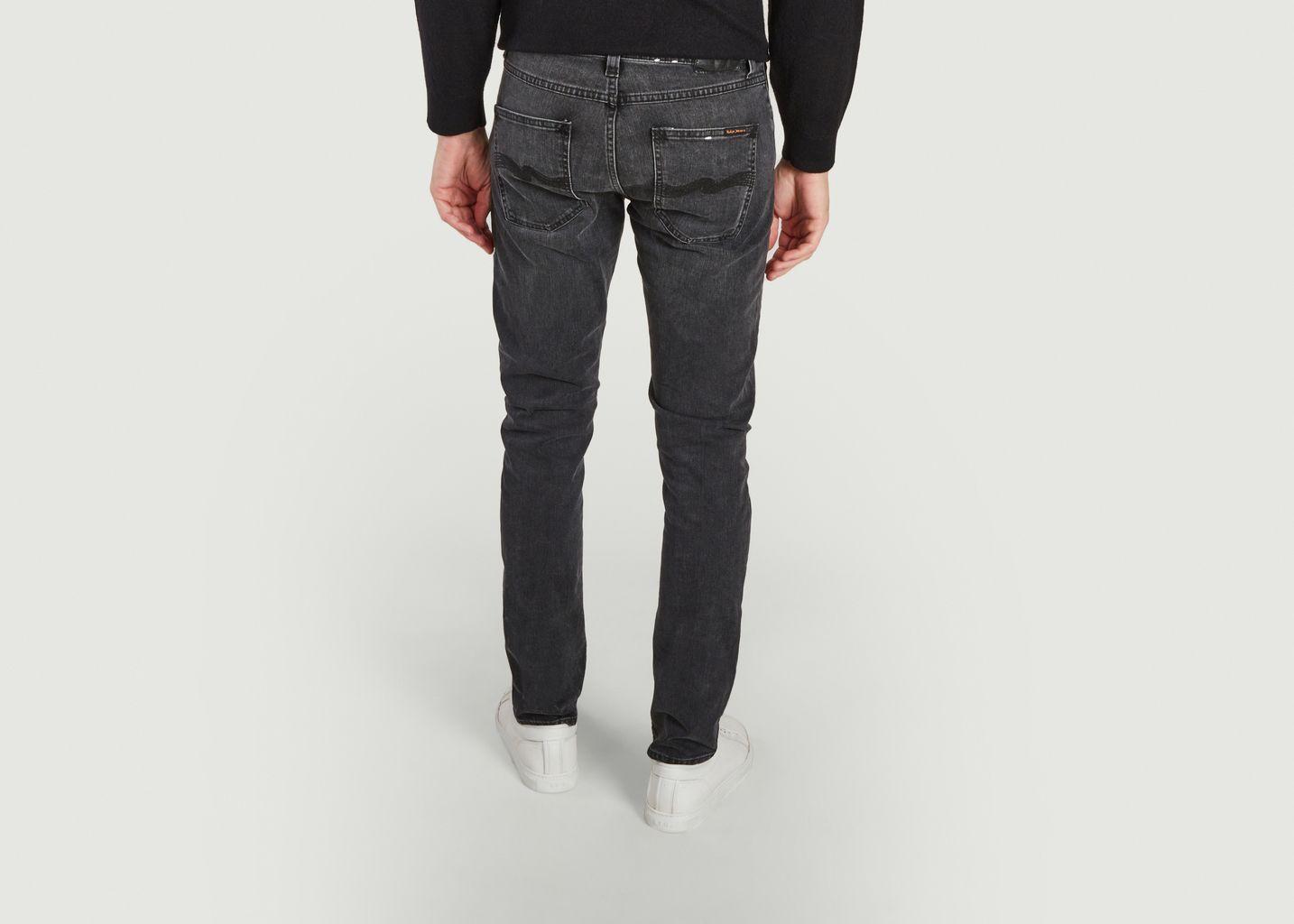 Jean Lean Dean Black Eyes - Nudie Jeans