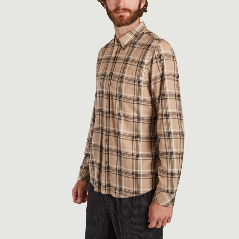 Chemise Sergé à Carreaux Chuck - Nudie Jeans