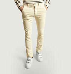 Pantalon Slim Adam en Velours
