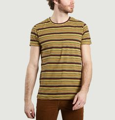 Anders Overdyed Striped T-shirt