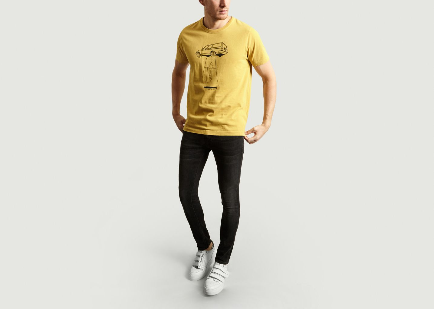 T-Shirt Roy Station Wagon - Nudie Jeans