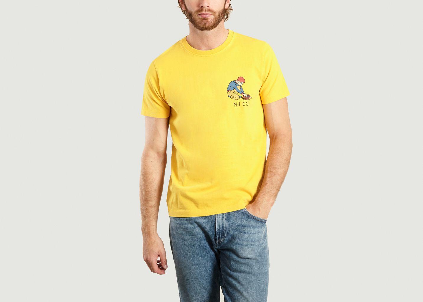 T-Shirt Roy Multi Logo Boy - Nudie Jeans