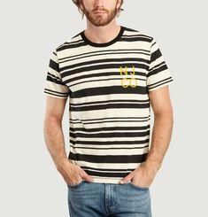 T-Shirt Rayé Roy Barcode