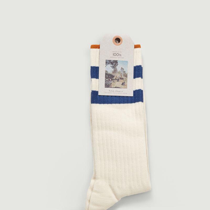 Chaussettes De Tennis Amundssom en Coton Biologique - Nudie Jeans