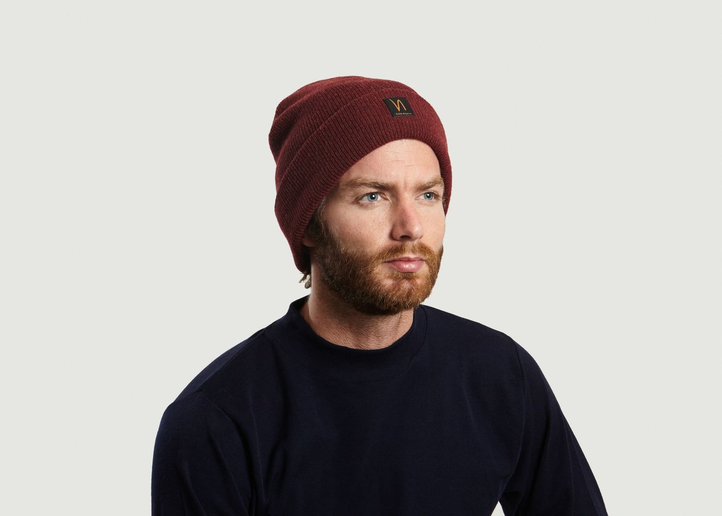 Sale Liamsson Beanie Burgundy Nudie Jeans at -50%  cafdaf8b64e0
