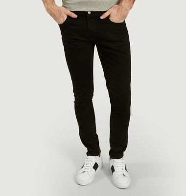 Enge, getönte Frottee-Jeans